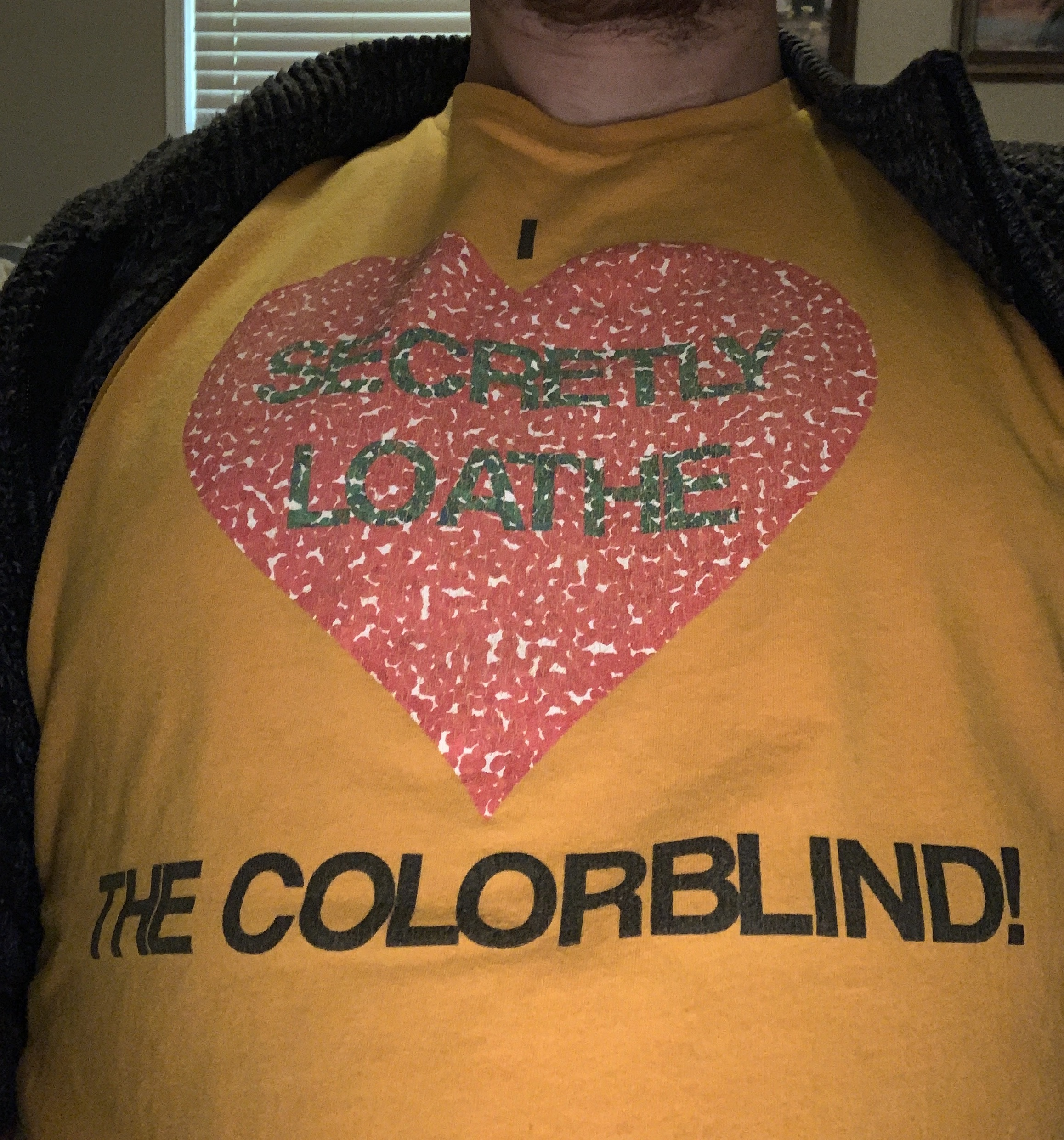 I love the colorblind?