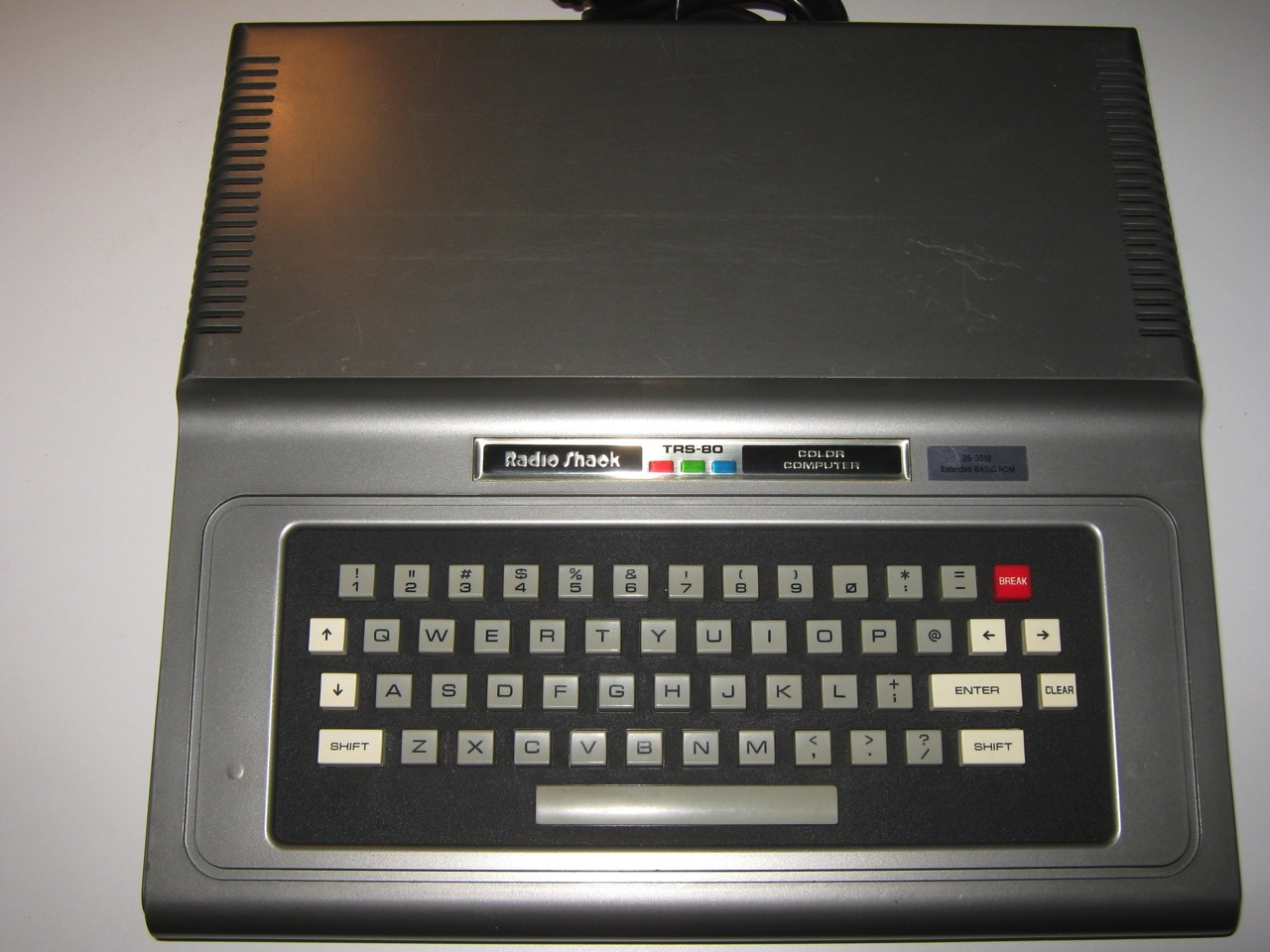 Behold the Radioshack TRS-80